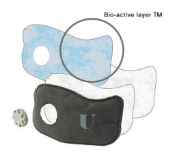 u-mask  exclusive  U-Ox® Bio Active layer