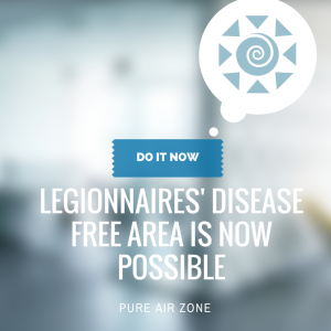pure air zone legionnaires' disease