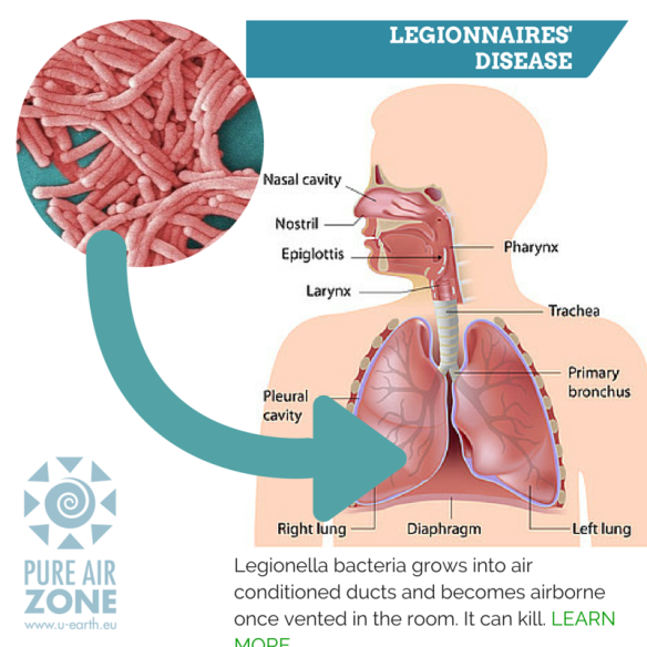 legionnaires' disease | pure air zone, Human body